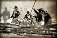 Cheadle Lake Civil War Reenactment 2012